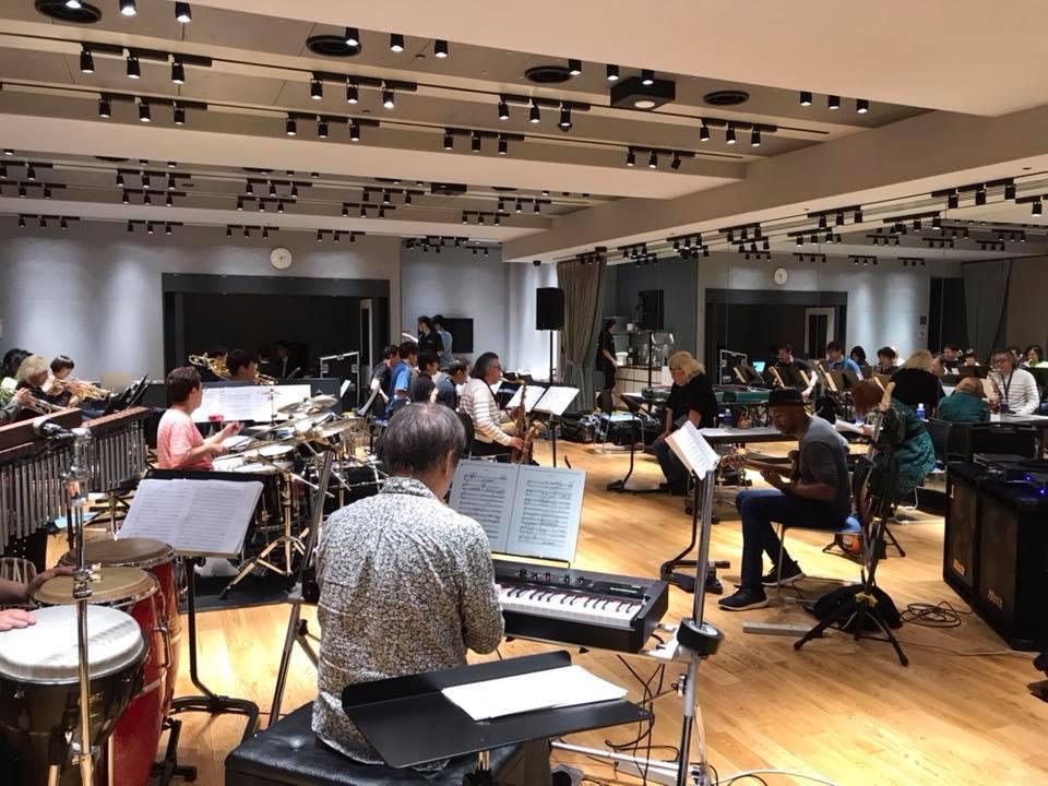 いよいよ明日は、マーカス・ミラーをゲストに迎えての、東京ブルーノートオールスタービッグバンドのライブ。