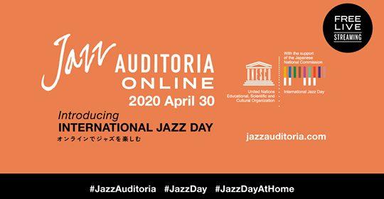 本日4月30日は、インターナショナルジャズディです。