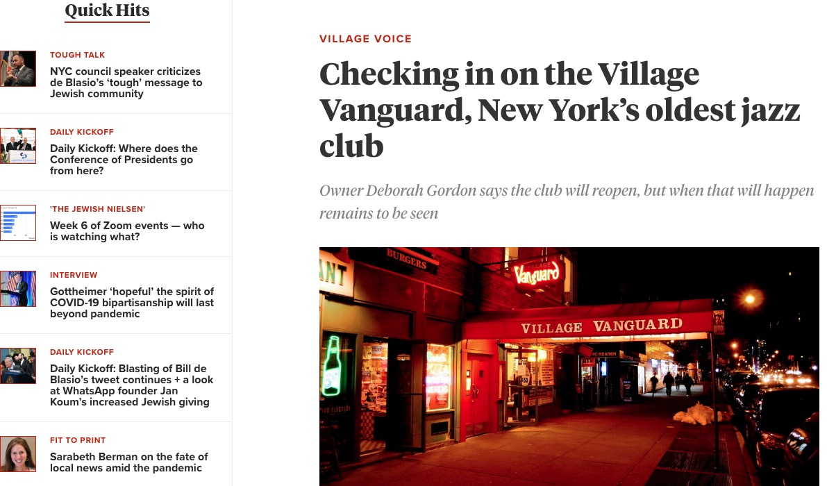 NYのジャズクラブの近況とCD等の物販ですが、大体一区切りがつきました。